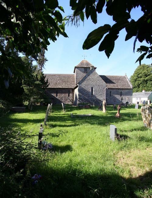 Llanddew Church, Brecon