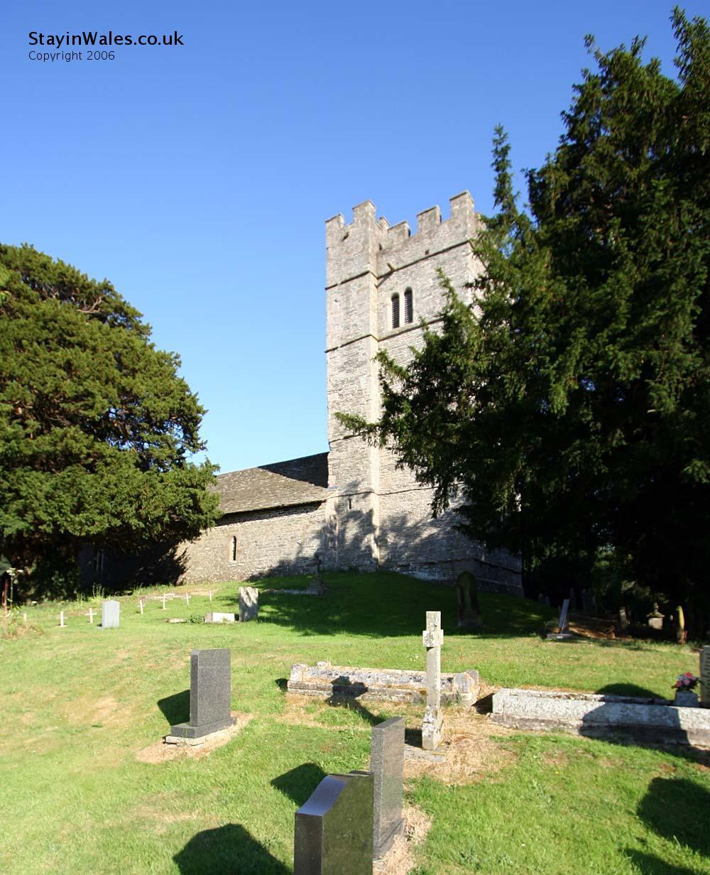 Crickadarn Church