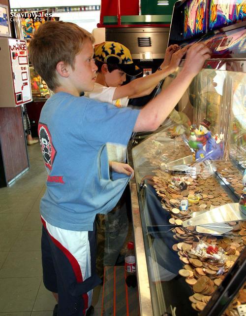 Bermouth penny falls