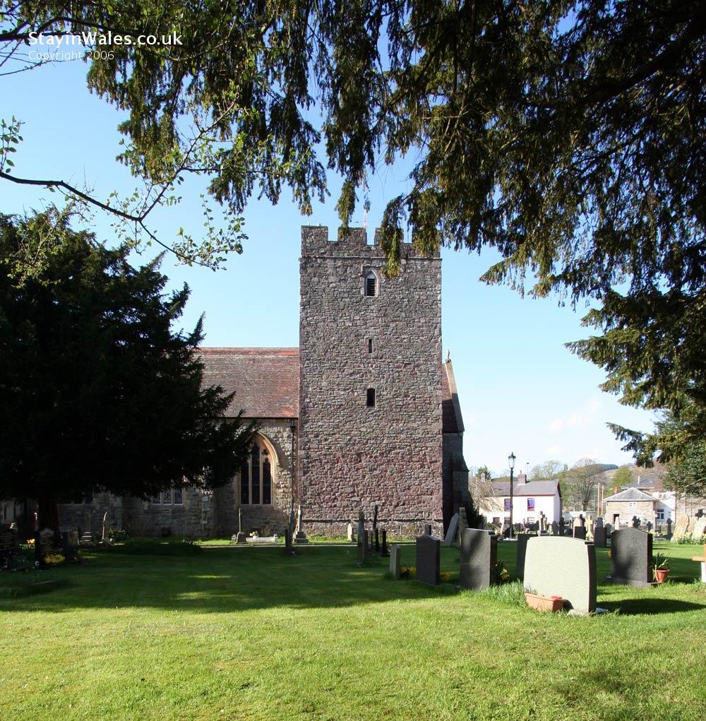 Builth Wells church