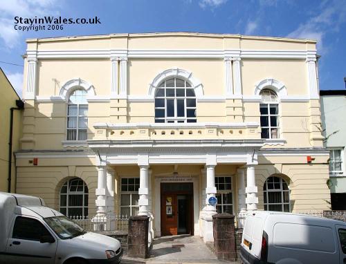 Shire Hall in Llandeilo