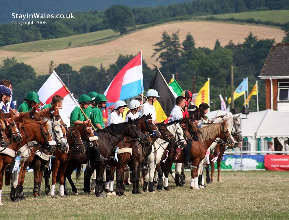 Royal Welsh show riding