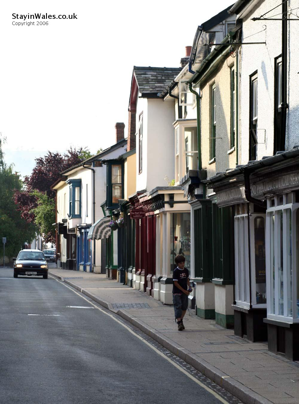Presteigne in Mid Wales