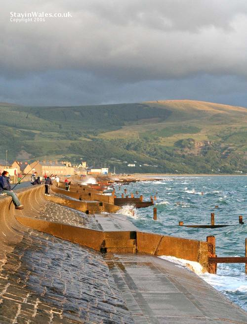 Barmouth high tide