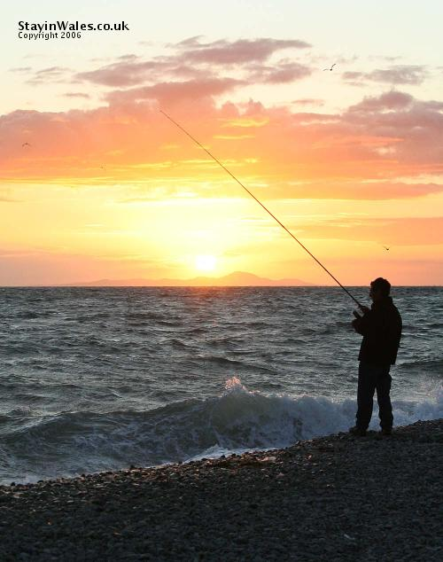 Sea fishing barmouth