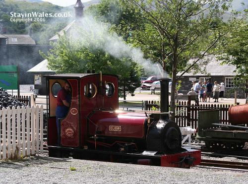 Elidir at Llanberis Lake Railway