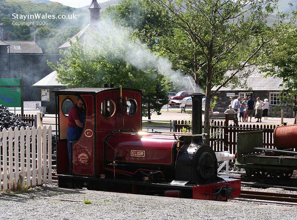 Elidir at Llanberis Lake Railway