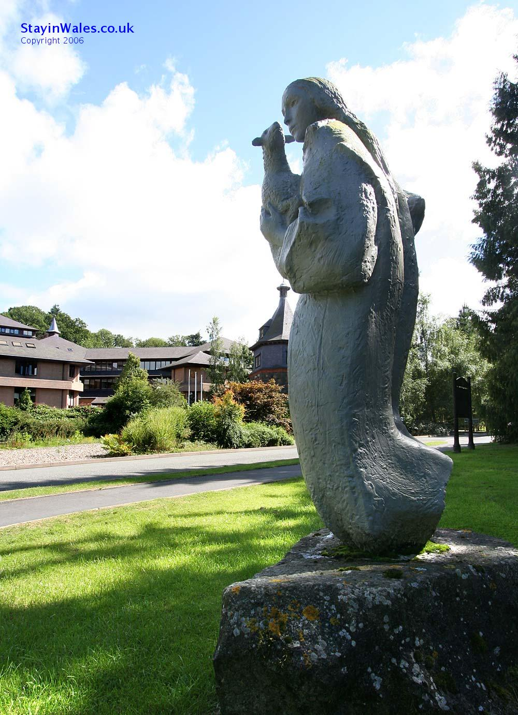 Gaia sculpture