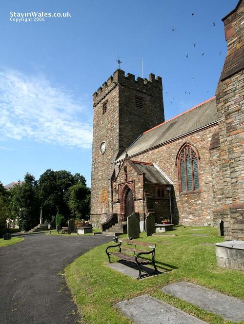 St Elli's church, Llanelli