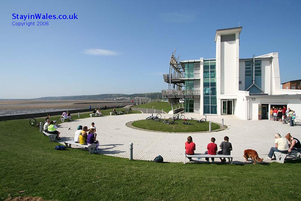 Millennium Coastal Park visitor centre, Llanelli