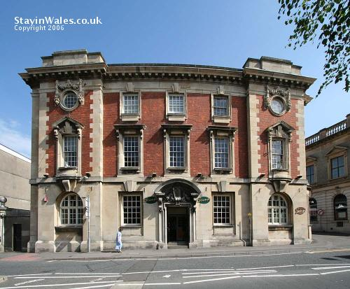 Stamps, the old Post Office in Llanelli
