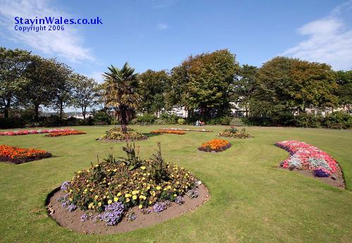 Llanelli Town Hall gardens