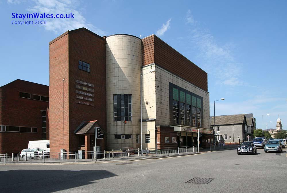 Llanelli theatre and cinema