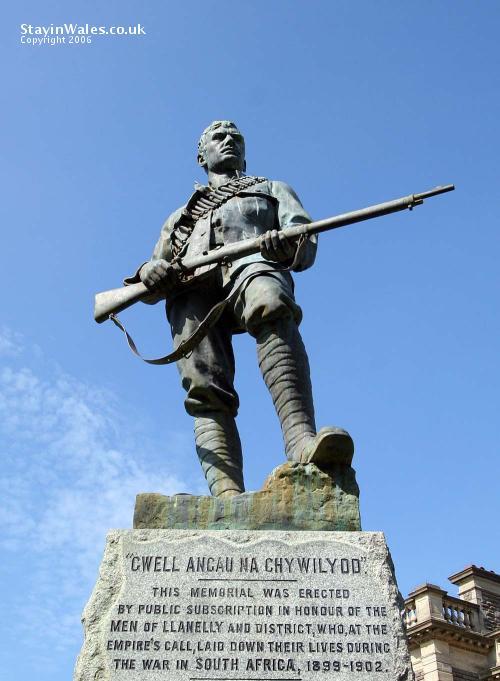 Boer War memorial Llanelli
