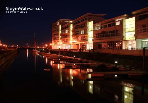 Cardiff Bay flats