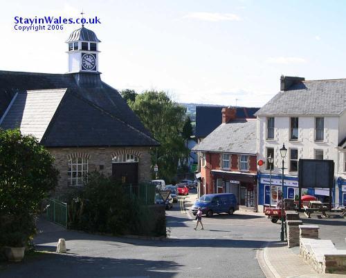 Talgarth Town Square
