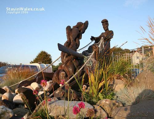 Ferryside sculpture