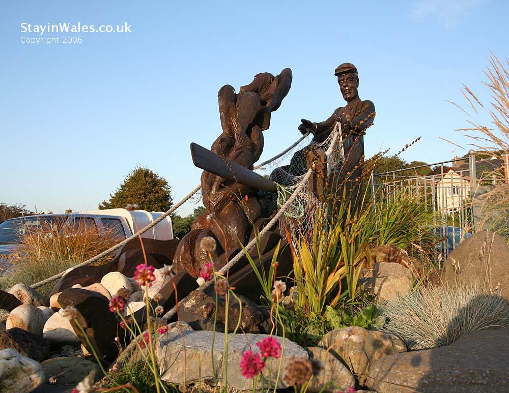 Ferryside sculpture