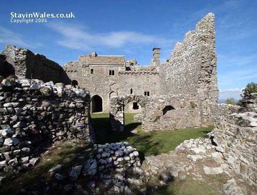 Weobley Castle Llanrhidian