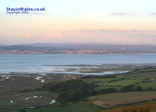 Llanelli from the Gower