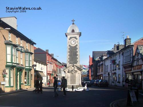 Rhayader clocktower