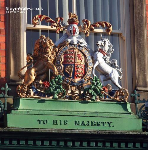 To His Majesty, Llanidloes