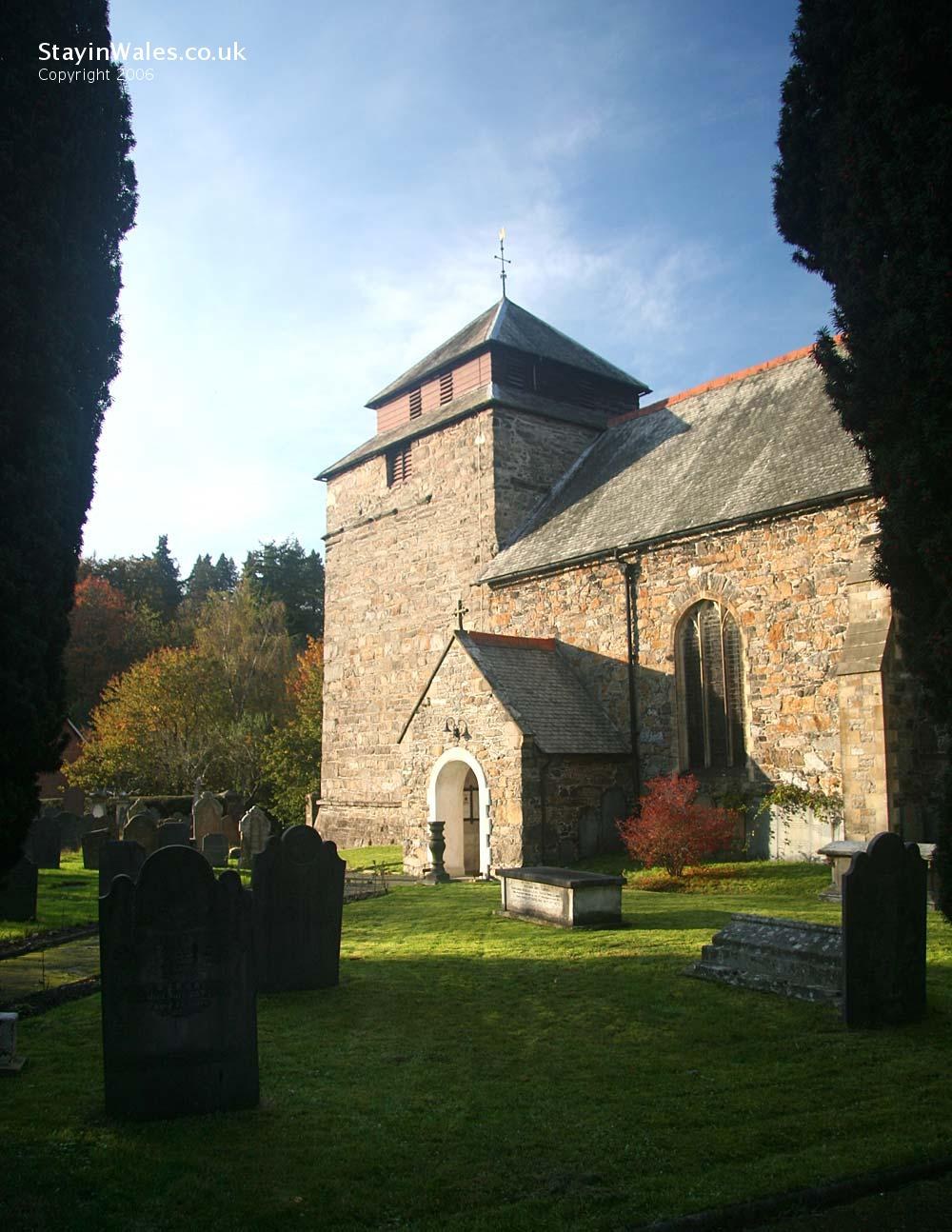 St Idloes Llanidloes