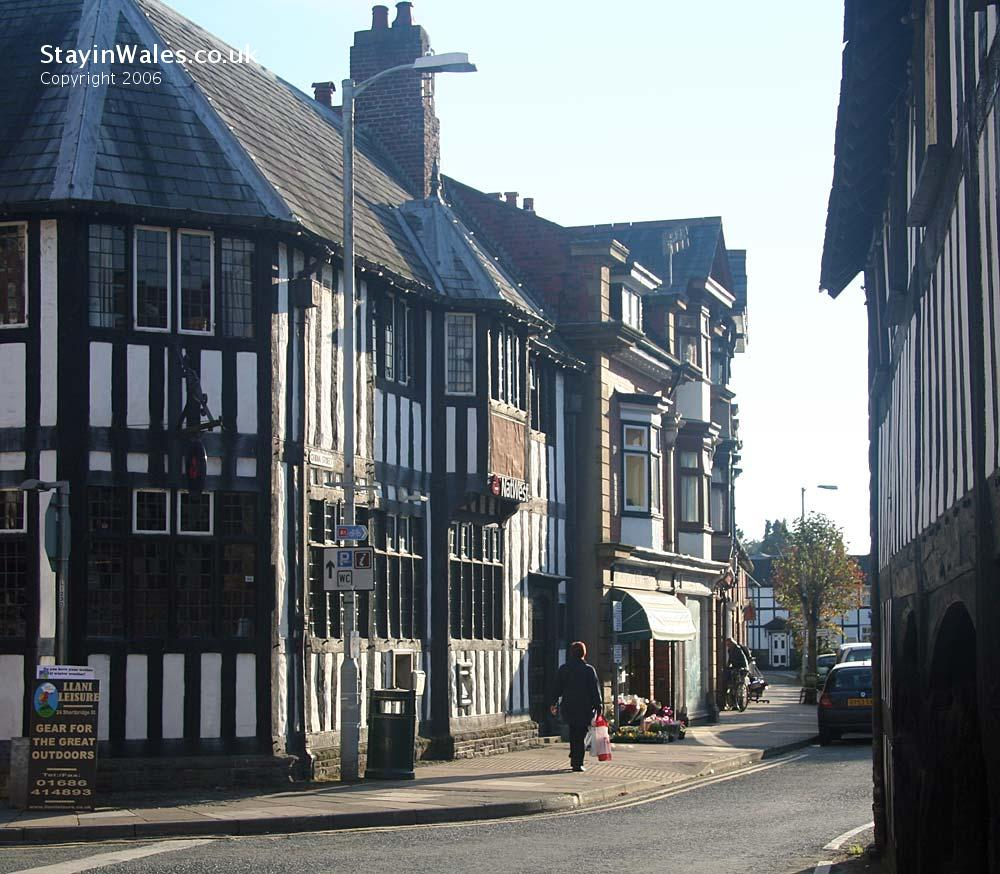 Llanidloes town centre