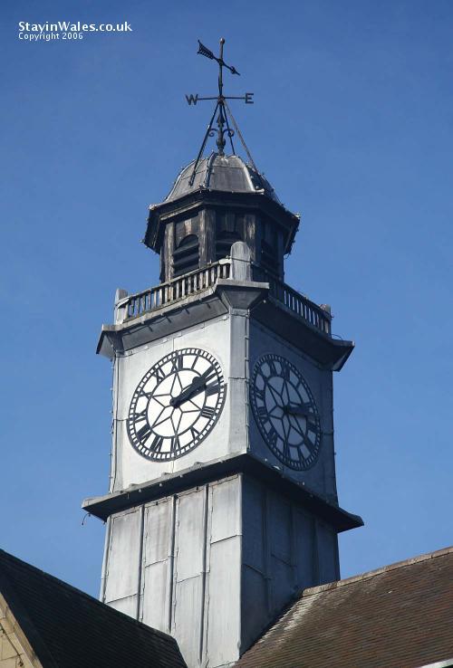 Llanidloes clocktower