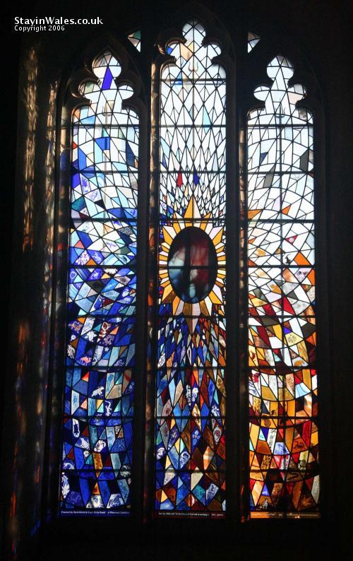 Millennium window Llanidloes