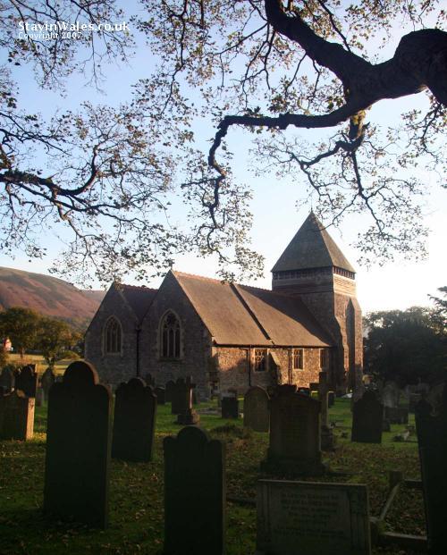 St Llonios Church Llandinam