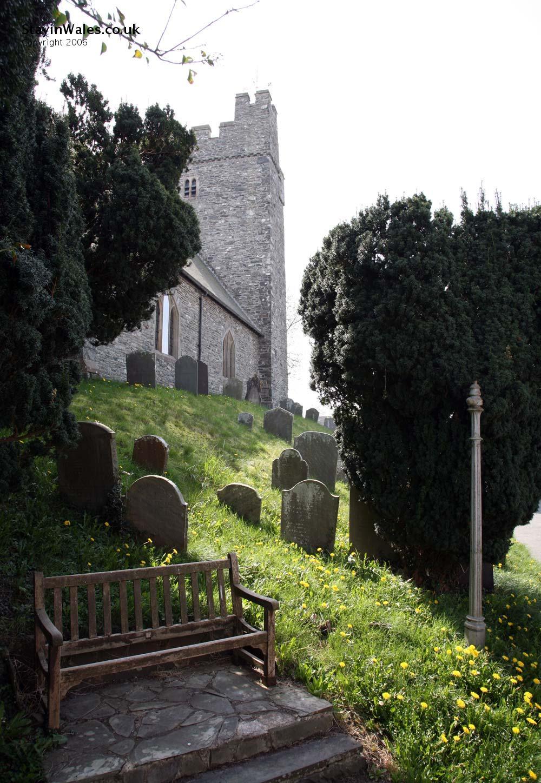 St Caron's Church Tregaron