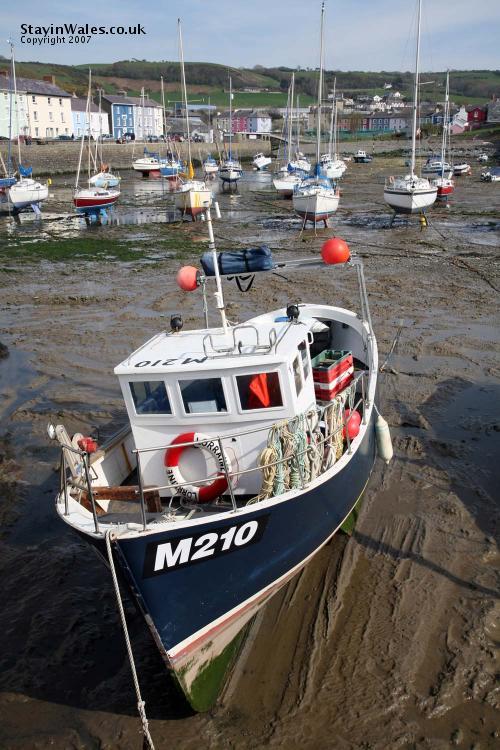 Aberaeron fishing boat