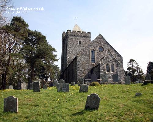 St David's Church Llanddewi Brefi