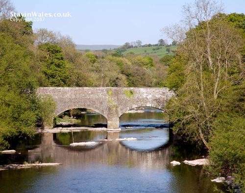 Brynich packhorse bridge