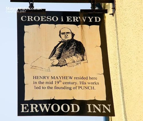 Henry Mayhew sign at Erwood