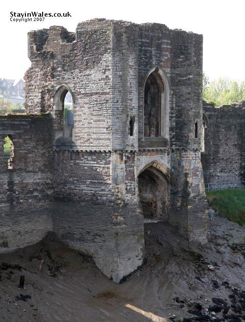 Newport Castle water gate