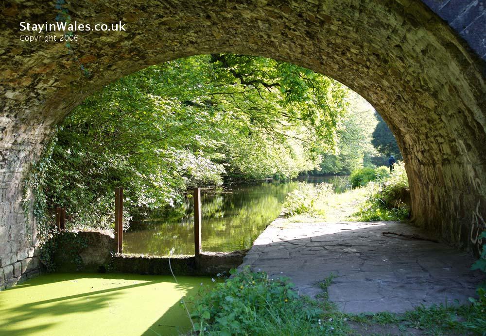 Canal bridge Newport