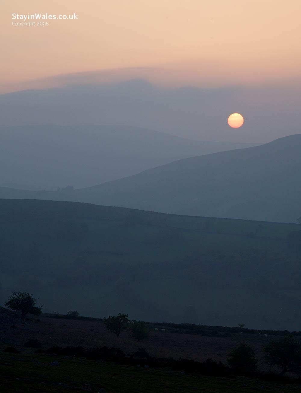 Beacons sunset