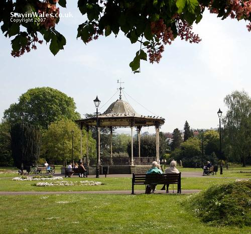 Bandstand Neath