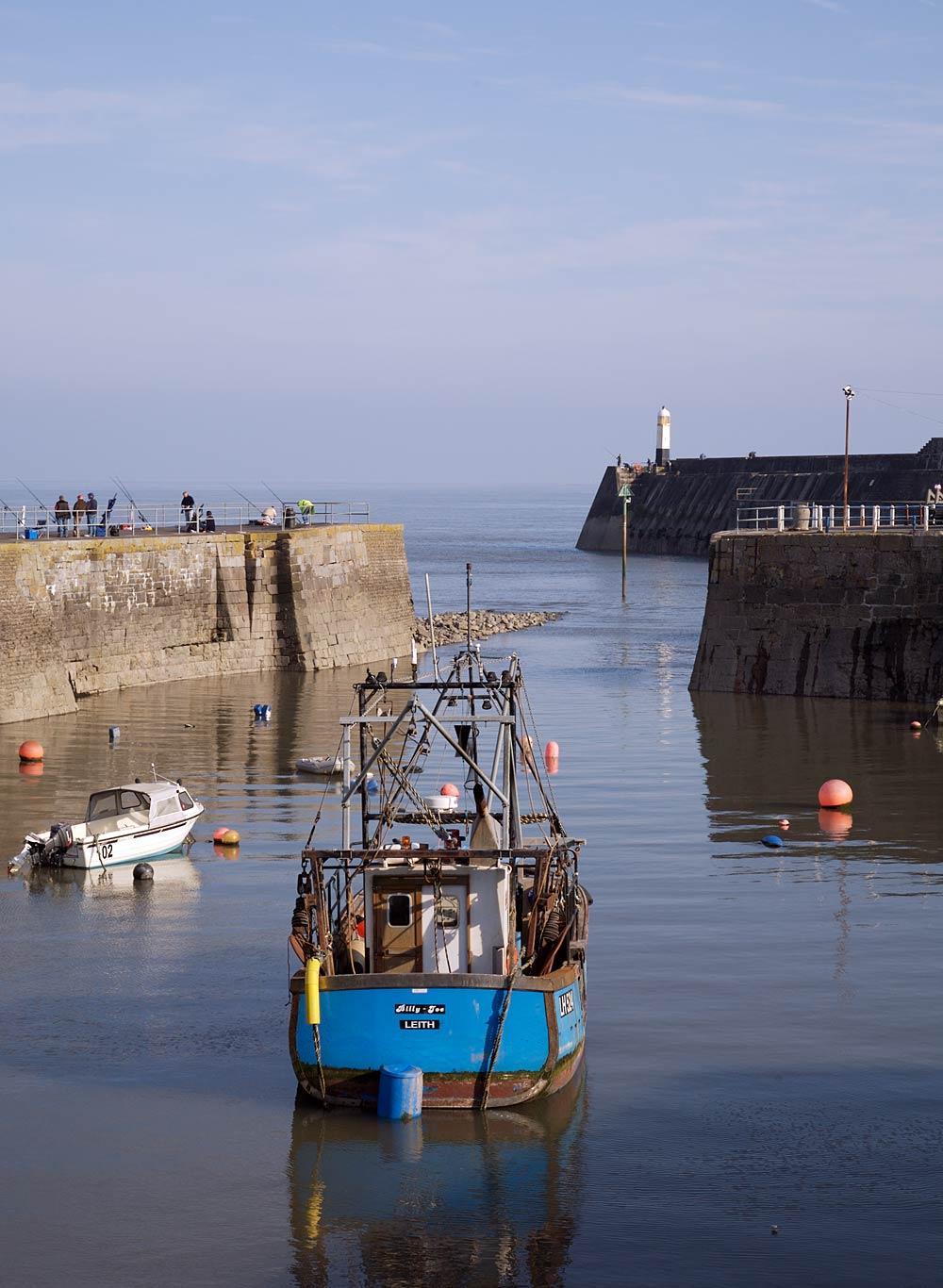 Fishing boat Porthcawl
