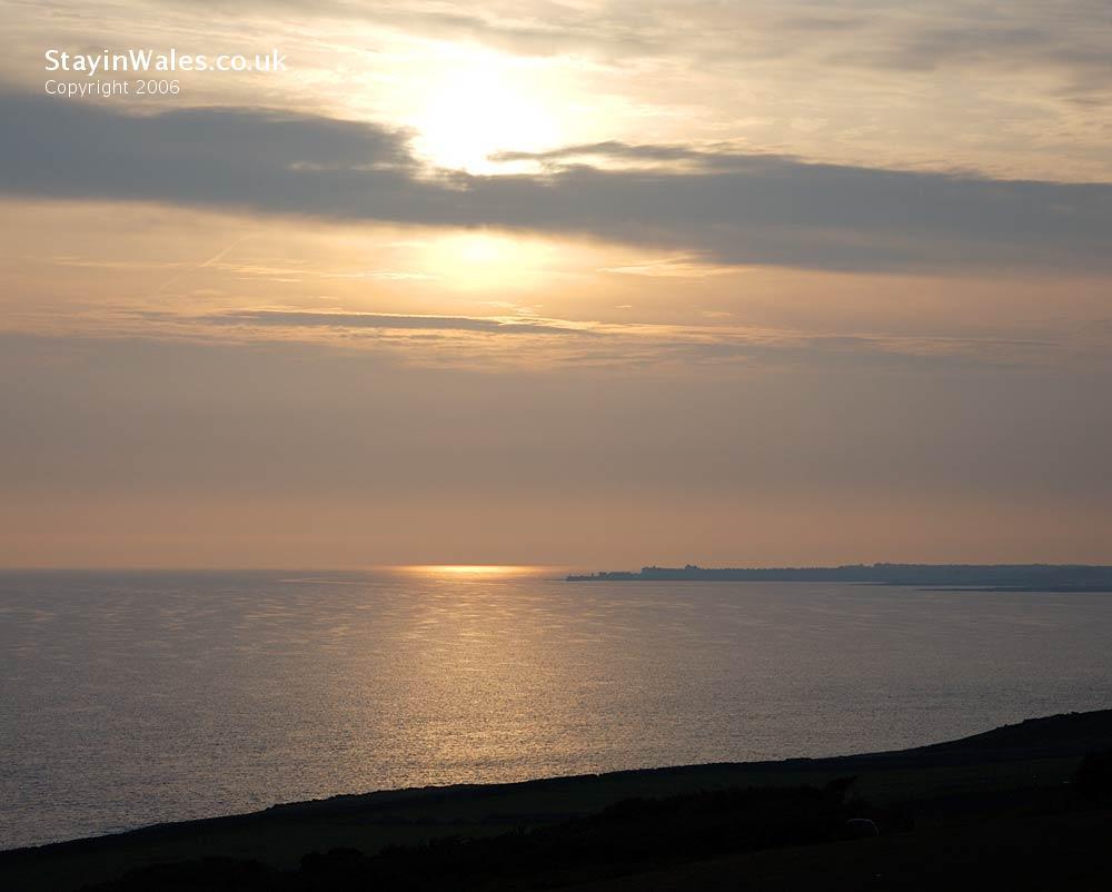 Sunset Porthcawl