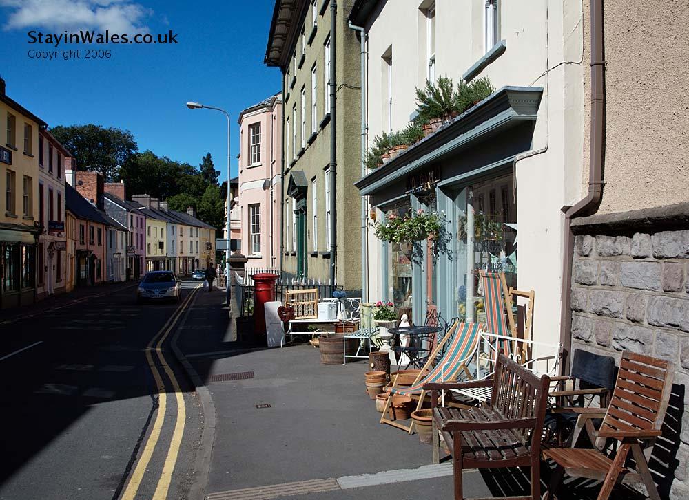 High Street Brecon