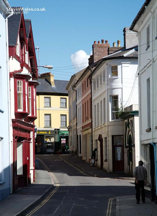 Castle Street Brecon