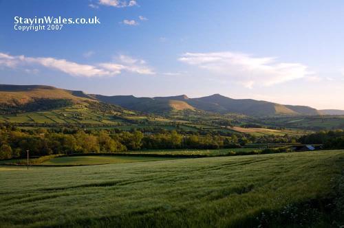 Beacons from Llanfihangel Tal-y-Llyn