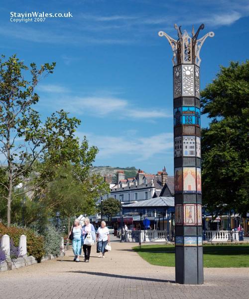 Millennium Sculpture Llandudno