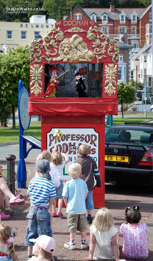 Punch and Judy Llandudno
