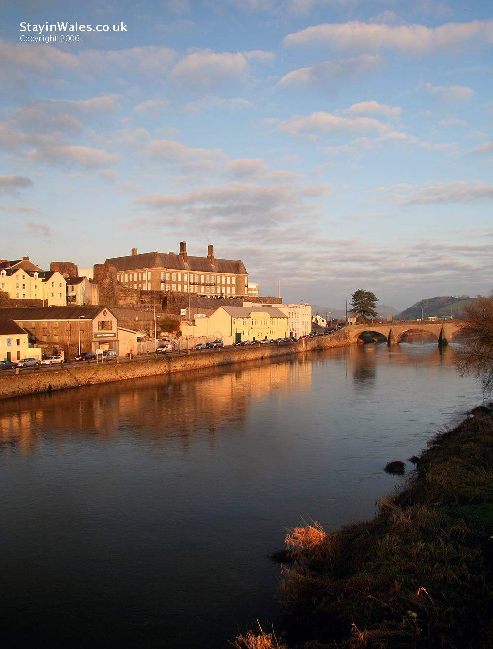 River Towy Carmarthen