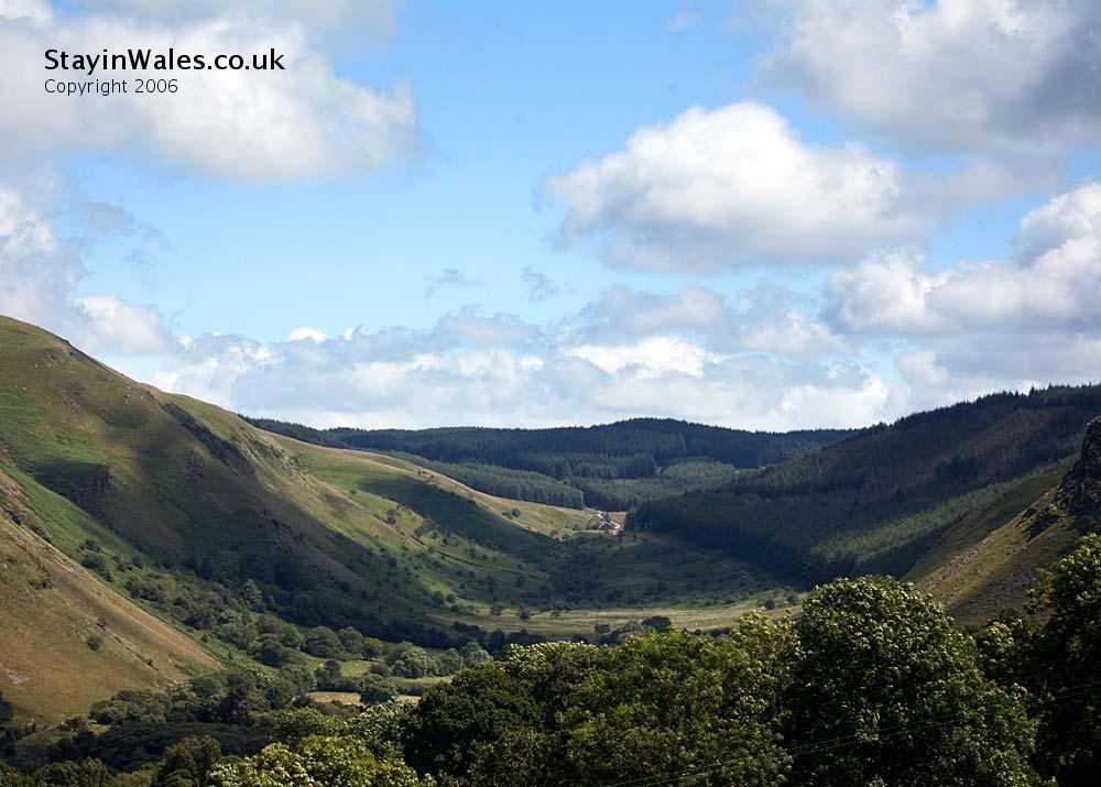 Berwyn Valley Ceredigion