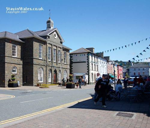 Aberaeron town centre